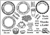 Creative Expressions - Coffee Time Clear Stamp Set
